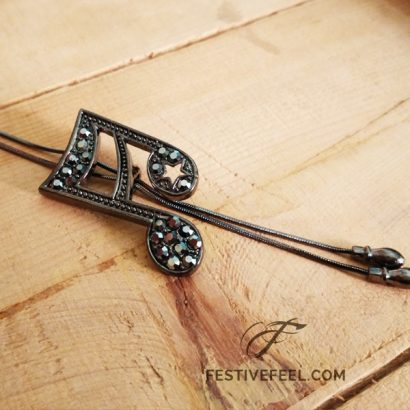 music charm pendant necklace